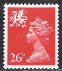 Wales SG W61 1982 Machin 26p unmounted mint
